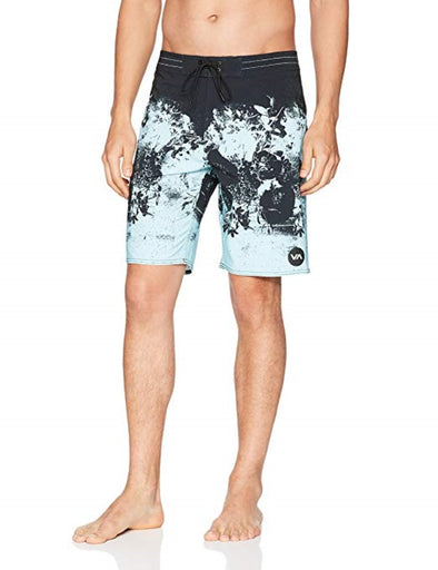 RVCA Mens Radar Printed Boardshorts M110NRRA - The Smooth Shop