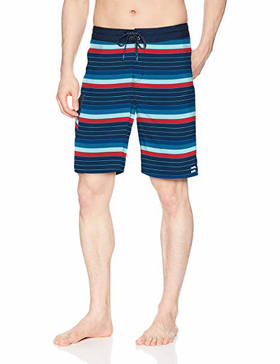 Billabong Mens All Day OG Stripe Boardshorts M165NBAS - The Smooth Shop