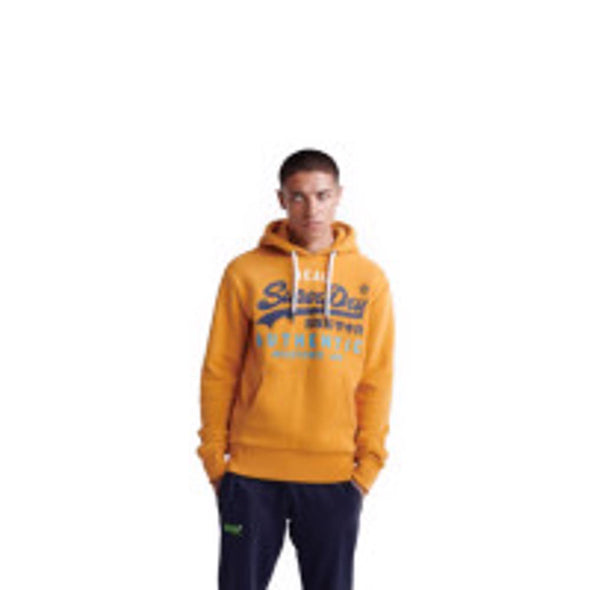 Superdry Mens Vintage Logo Authentic Tri Hoodie - The Smooth Shop