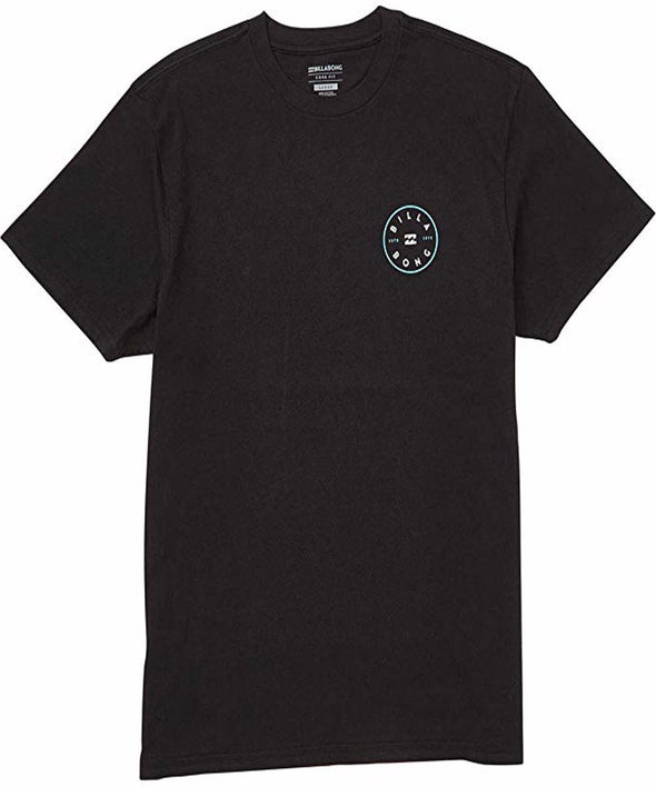 Billabong Mens Rotor T-Shirt, Black, 2XL - The Smooth Shop