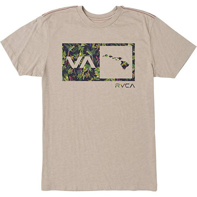RVCA Mens Squawker Islands Balance T-Shirt M420SRSS - The Smooth Shop