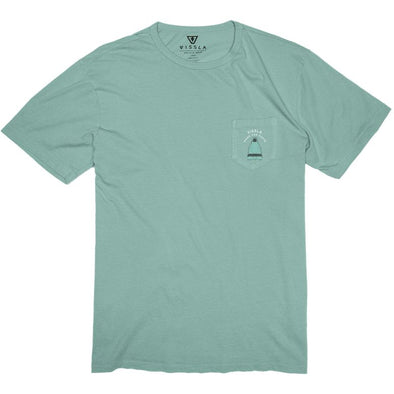 Vissla Mens DaFiN For Da Braddahs Vintage Wash Pocket T-Shirt - The Smooth Shop
