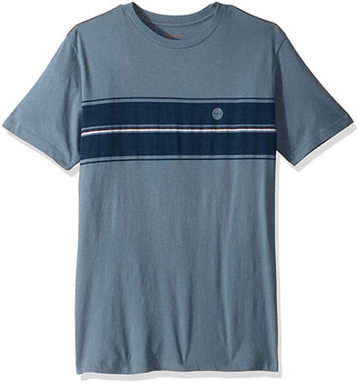 RVCA Mens Motors Stripe T-Shirt M430SRMO - The Smooth Shop
