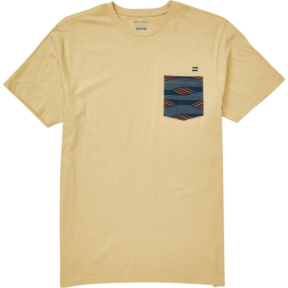 Billabong Mens Team Pocket T-Shirt M431QBTP - The Smooth Shop
