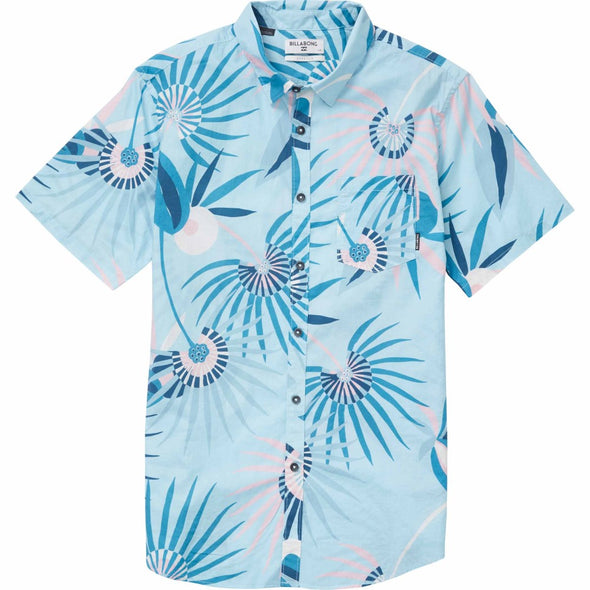 Billabong Mens Sunday Floral Short Sleeve Shirt M503NBSF - The Smooth Shop