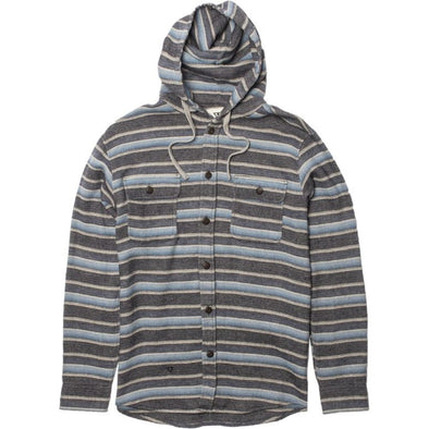Vissla Mens Pumphouse Hooded Flannel M505FPUM - The Smooth Shop