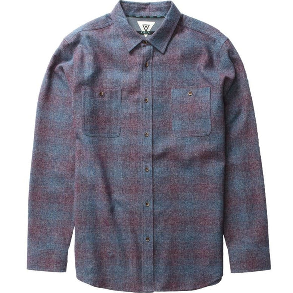 Vissla Mens Sands Long Sleeve Woven Shirt - The Smooth Shop