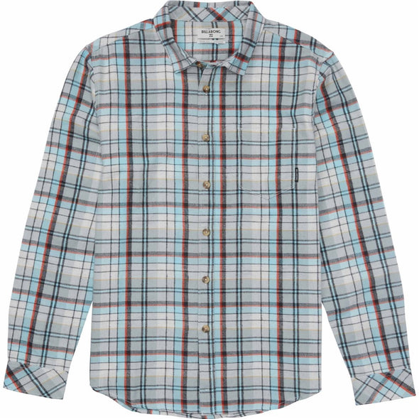 Billabong Mens Coastline Flannel Shirt M508MCOA - The Smooth Shop