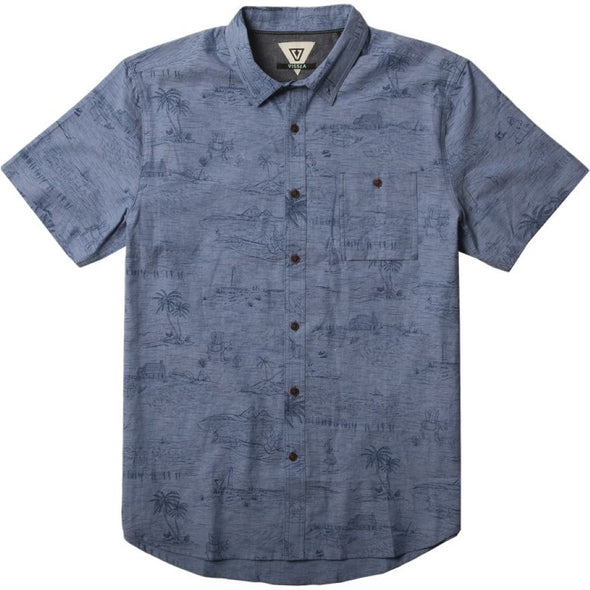 Vissla Mens Global Stoke Woven Shirt M510DGLS - The Smooth Shop