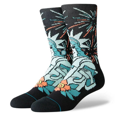 Stance Mens Classic Crew Freedom of Ice Cream Socks - The Smooth Shop