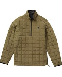 Billabong Mens Boundary Reversible Puffer Jacket - The Smooth Shop