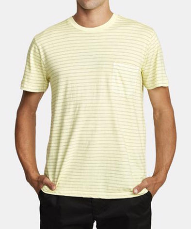 RVCA Mens PTC Striped Knit Shirt - The Smooth Shop