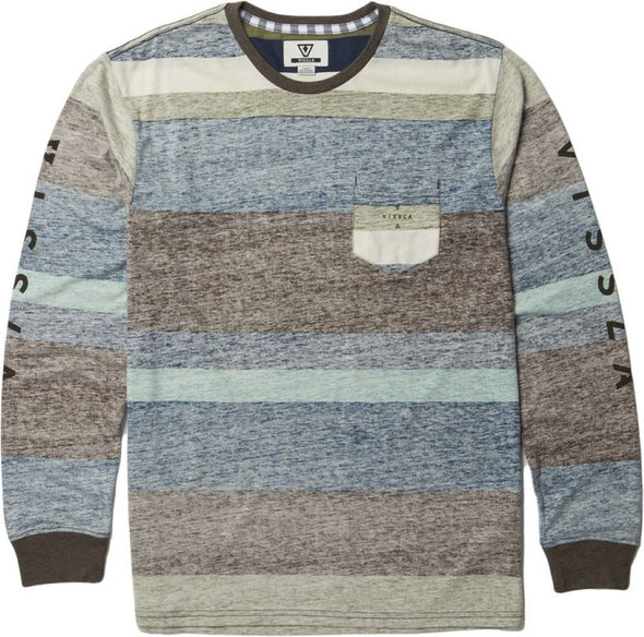 Vissla Mens Washed Out Long Sleeve Pocket T-Shirt M912CWAL - The Smooth Shop
