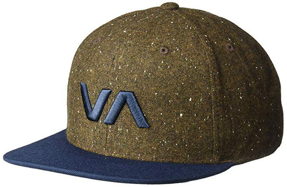 RVCA Mens VA Snapback II Hat MAAHWVAS - The Smooth Shop