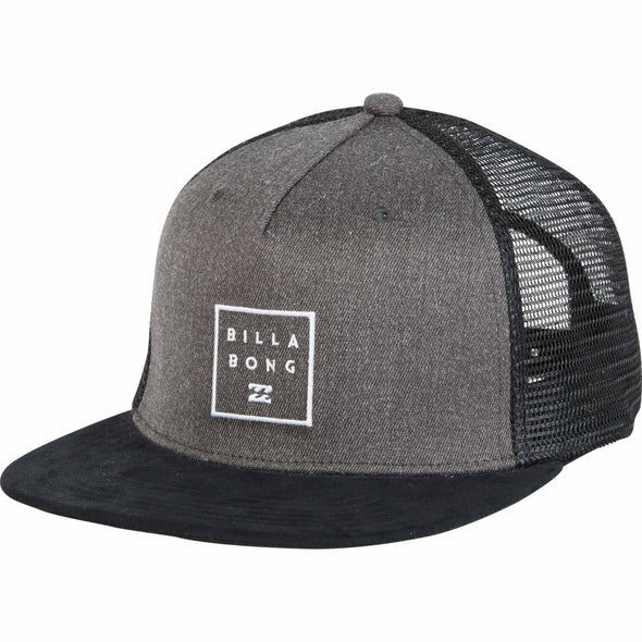 Billabong Mens Stacked Trucker Hat MAHWNBST - The Smooth Shop