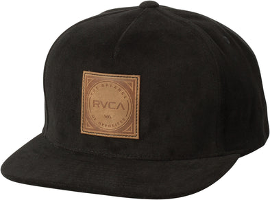 RVCA Mens Mills Snapback Hat MAHWSRMS - The Smooth Shop