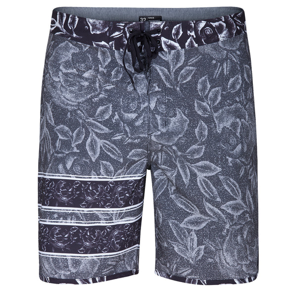 Hurley Mens Phantom Block Party  Rosewater  Boardshorts MBS0006840 - The Smooth Shop