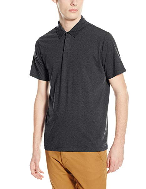 RVCA Mens Sure Thing II Polo Short Sleeve Shirt ME922SUR - The Smooth Shop