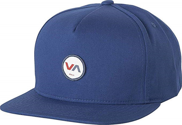 RVCA Mens Center Snapback Hat MGAHWCEN - The Smooth Shop