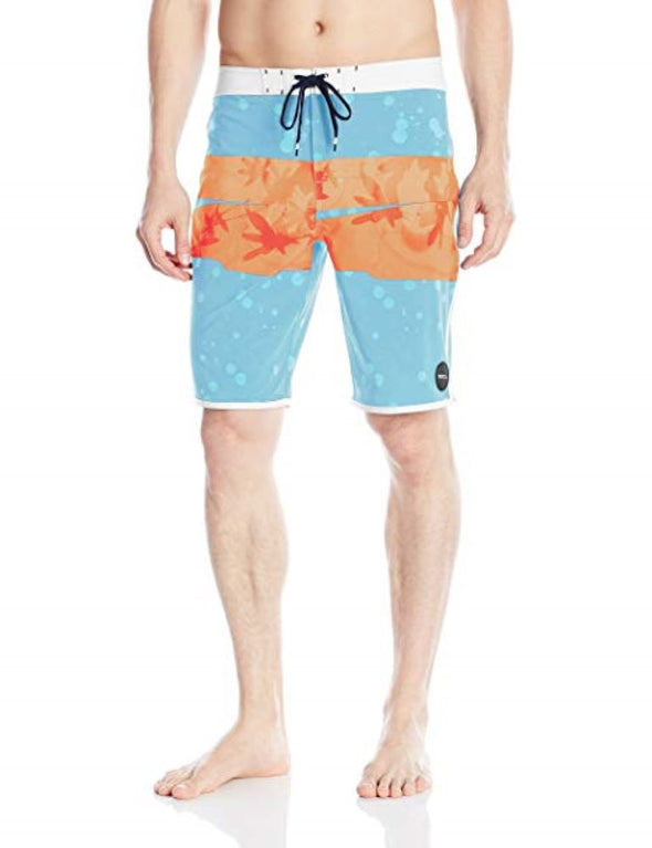 RVCA Mens Chopped Boardshorts MJ105CHO,Cosmos,38 - The Smooth Shop