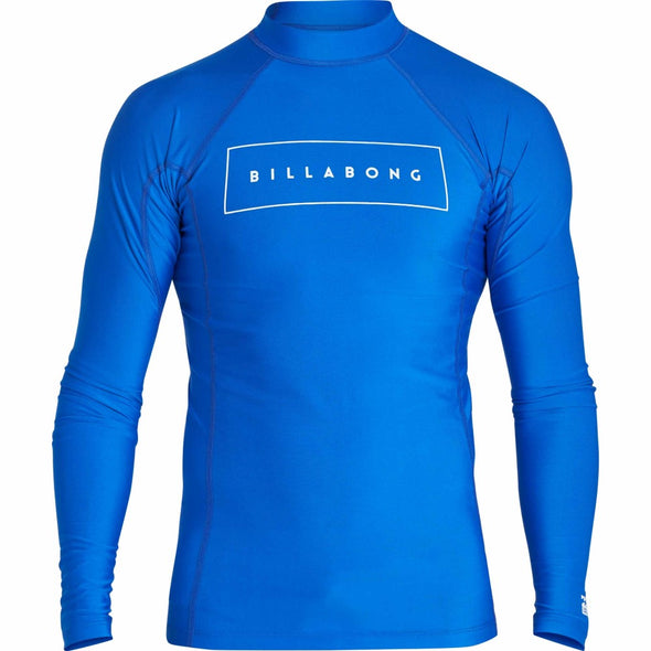 Billabong Mens All Day United Performance Fit Long Sleeve Rashguard MR64NBAU - The Smooth Shop