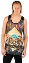 Neff Mens Battlekat Tank Top 16P32002 - The Smooth Shop