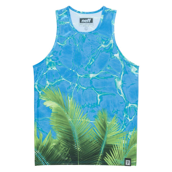 Neff Mens Palm Water Tank Top 15P32020 - The Smooth Shop