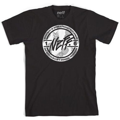 Neff Mens Stamper Filled Short Sleeve T-Shirt 16P29033 - The Smooth Shop