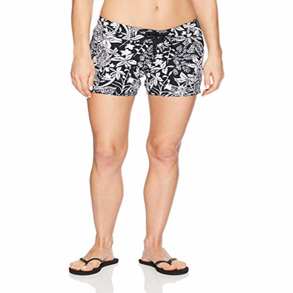 Volcom Women's Branch Out 5 inch Boardshort, Black, 9 - The Smooth Shop