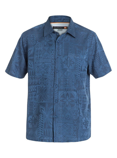 Quiksilver Mens Aganoa Bay 4 Short Sleeve Shirt AQMWT03105 - The Smooth Shop