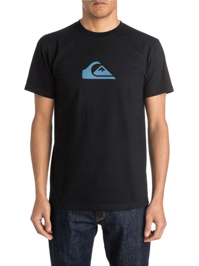Quiksilver Mens Everyday Logo Short Sleeve T-Shirt AQYZT03179 - The Smooth Shop