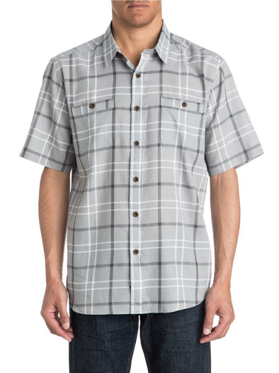 Quiksilver Mens Mitchell Short Sleeve Shirt AQYMWT0317 - The Smooth Shop