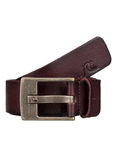 Quiksilver Mens Section Leather Belt EQYAA03362 - The Smooth Shop