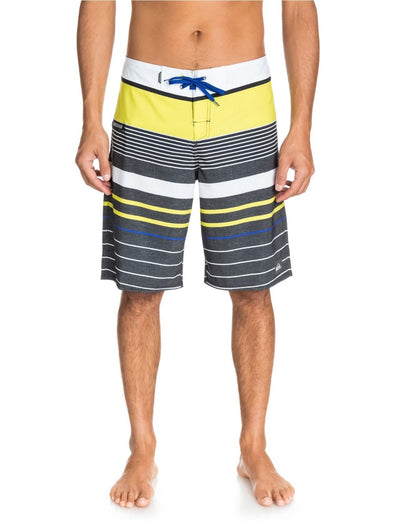 "Quiksilver Mens YG Stripe 21"" Boardshorts AQYBS03139 - The Smooth Shop"