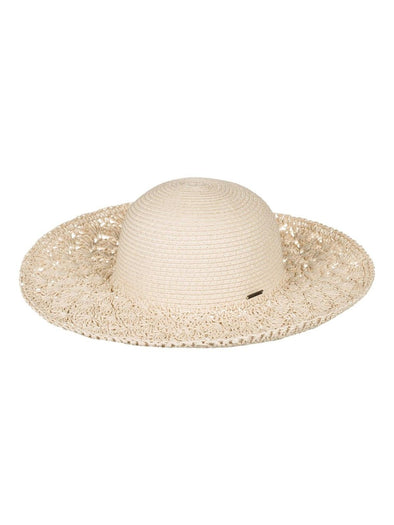 Roxy Womens Facing The Sun Straw Hat ERJHA03126 - The Smooth Shop