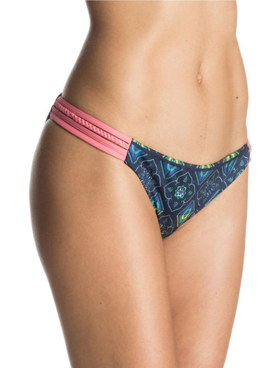 Roxy Womens Flower Square Heart Bikini Bottoms ERJX403127 - The Smooth Shop