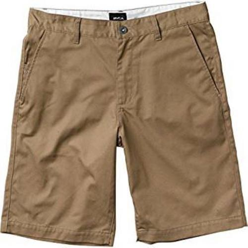 RVCA Mens American Chino Shorts M210NRAM - The Smooth Shop