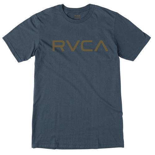 RVCA Mens Big RVCA T-Shirt M600G00B - The Smooth Shop