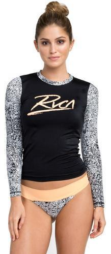 RVCA Womens Margaux Long Sleeve Rashguard XR01PRML - The Smooth Shop