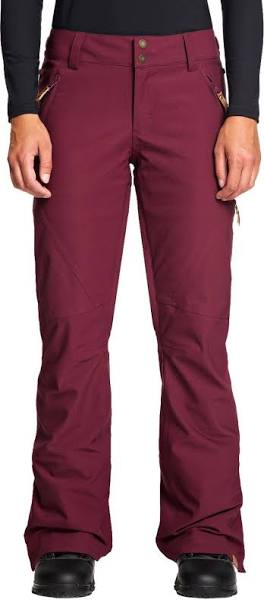 Roxy Women's Cabin Snowboard Pants ERJTP03005,Magenta Purple,M - The Smooth Shop