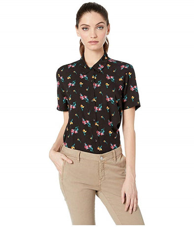 Vans Womens Driver II Short Sleeve Woven Shirt - The Smooth Shop