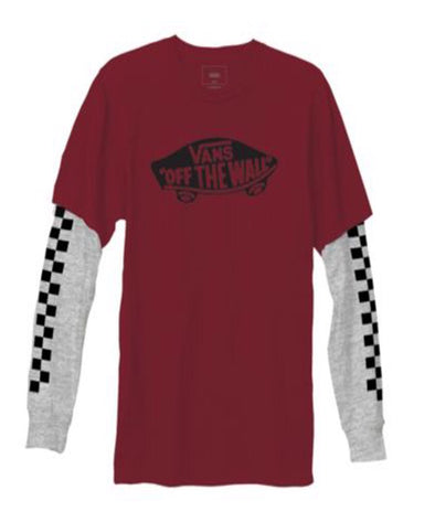 Vans Boys OTW Twofer Long Sleeve T-Shirt - The Smooth Shop