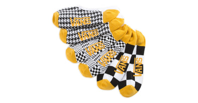 Vans Womens Houndstooth Check Canoodle Socks 3 Pack - The Smooth Shop