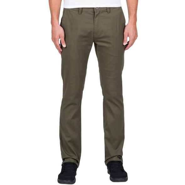 Volcom Mens Frickin Modern Stretch  Chino Pants A1111601 - The Smooth Shop