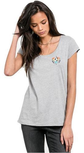 Volcom Womens Radically Rad T-Shirt B3541704 - The Smooth Shop