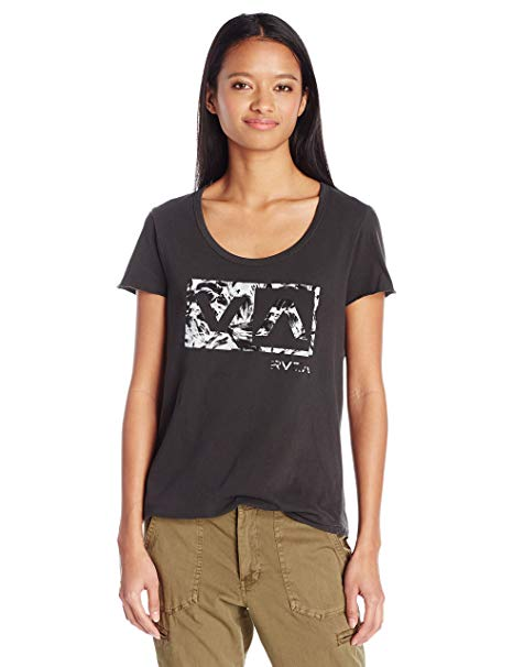 RVCA Womens Dazed Box T-Shirt W134J00D - The Smooth Shop