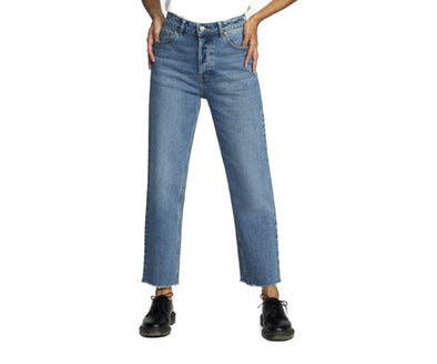RVCA Womens Holli High Rise Straight Denim Pants - The Smooth Shop