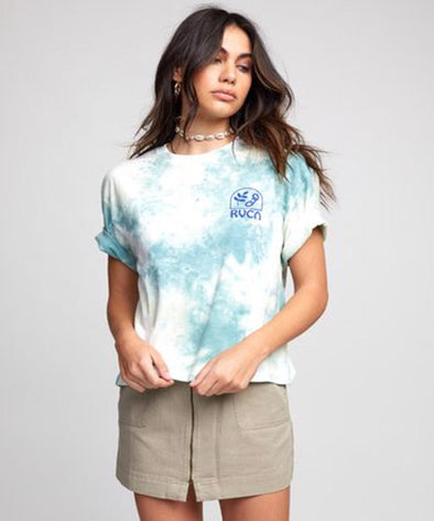 RVCA Womens Chainlink T-Shirt - The Smooth Shop