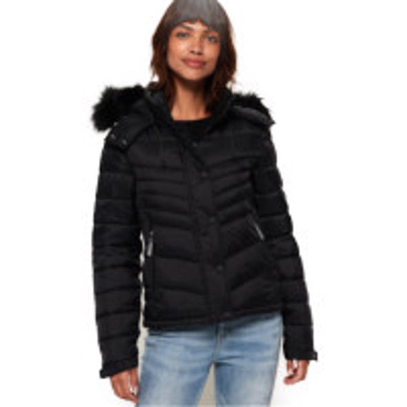 Superdry Womens Fuji Slim 3 In 1 Jacket - The Smooth Shop
