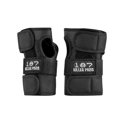 187 Killer Pads Unisex Wrist Guards WGSA100, Black, S - The Smooth Shop